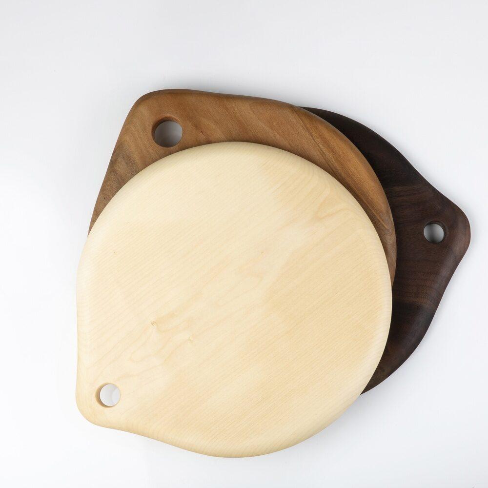 Planche de service en bois - erable - platane - noyer- jura
