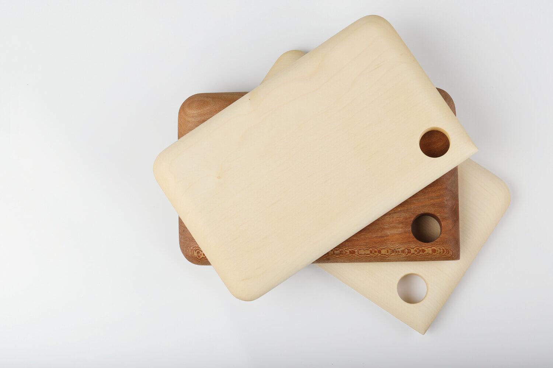 planche bois rectangulaire fait main