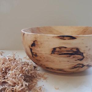 saladier en bois sculpte