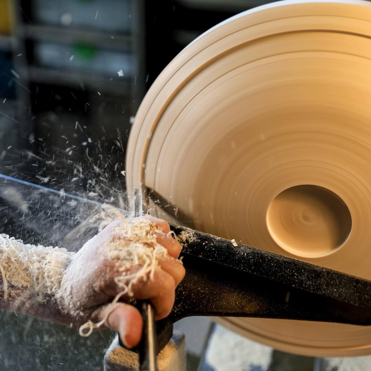 creatrice objet en bois original Jura