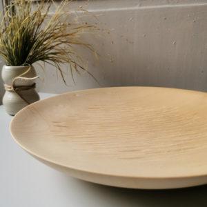 plat bois sculpte erable