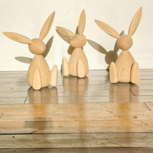 lapin bois decoration