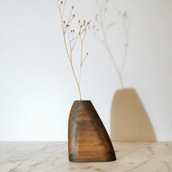soliflore fait main en bois