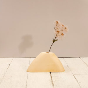 vase bois clair original