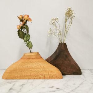 vase en bois jura