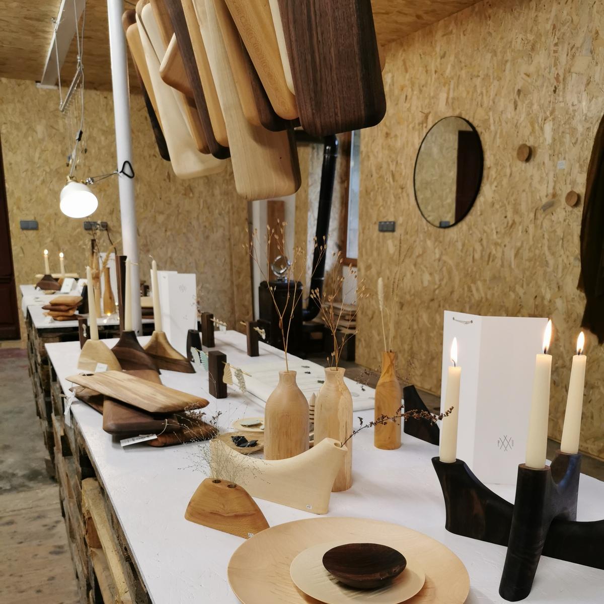 atelier vente objet en bois jura