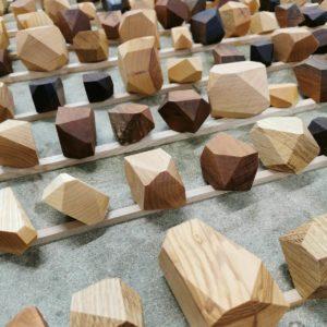 jeu cailloux bois fait en france