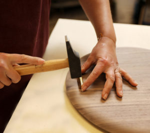 fabrication planche restaurant