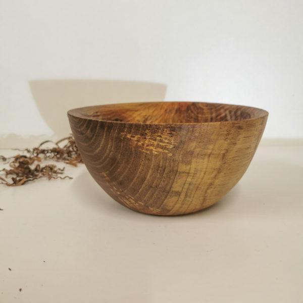 gros bol en bois